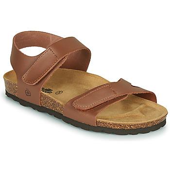 Chaussures Fille Sandales et Nu-pieds Citrouille et Compagnie BELLI JOE Marron