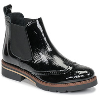 Chaussures Femme Boots Betty London NAVA Noir vernis