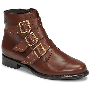 Chaussures Femme Boots Betty London LYS Camel