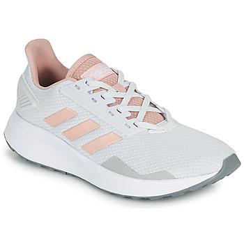 Chaussures Baskets basses adidas Performance DURAMO 9 Gris / rose
