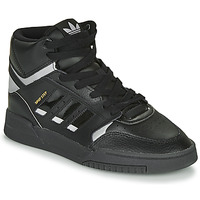 Chaussures Baskets montantes adidas Originals DROP STEP Noir / Argent