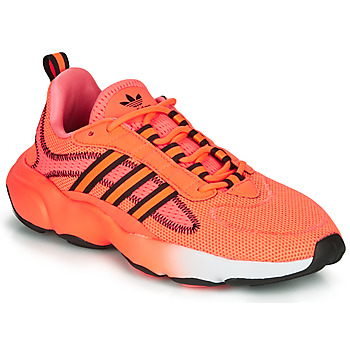 Chaussures Femme Baskets basses adidas Originals HAIWEE J Orange / Noir