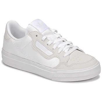 Chaussures Enfant Baskets basses adidas Originals CONTINENTAL VULC C Blanc