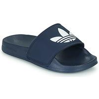 Chaussures Enfant Claquettes adidas Originals ADILETTE LITE J Marine / Blanc