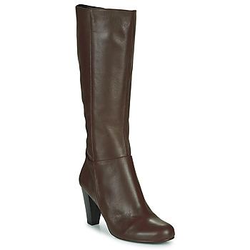 Chaussures Femme Bottes ville So Size ARDEIN Marron
