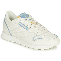 Chaussures Baskets basses Reebok Classic CL LTHR Blanc