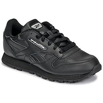Chaussures Enfant Baskets basses Reebok Classic CLASSIC LEATHER Noir