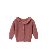 Vêtements Fille Gilets / Cardigans Cyrillus 4596299 Rose