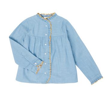 Vêtements Fille Chemises / Chemisiers Cyrillus  4553980 Bleu