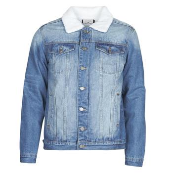 Vêtements Homme Vestes en jean Casual Attitude NOARO Bleu medium