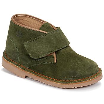 Chaussures Garçon Boots Citrouille et Compagnie NANUP Kaki