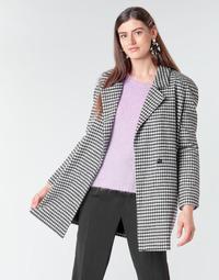 Vêtements Femme Manteaux Betty London NIVER Noir / Blanc