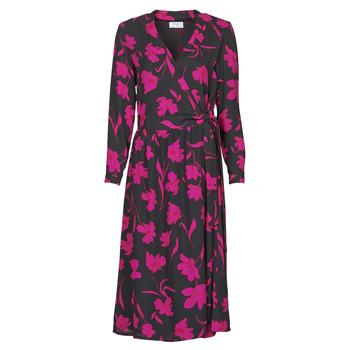 Vêtements Femme Robes longues Betty London NOLIE Noir / Rose