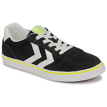 Chaussures Enfant Baskets basses Hummel STADIL 3.0 JR Noir / Blanc