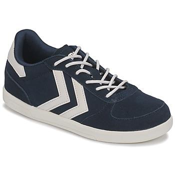Chaussures Enfant Baskets basses Hummel VICTORY JR Bleu