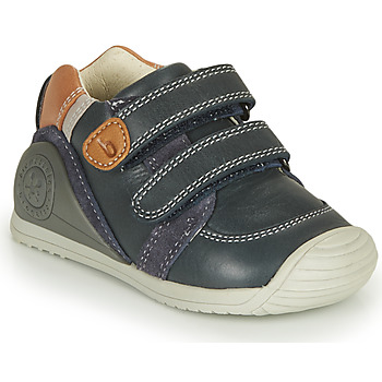 Chaussures Garçon Baskets basses Biomecanics BOTIN VELCROS Marine