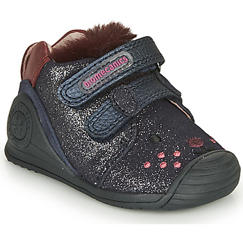 Chaussures Fille Baskets basses Biomecanics BOTIN ELASTICO Marine