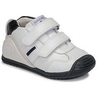 Chaussures Garçon Baskets basses Biomecanics BIOGATEO SPORT Blanc