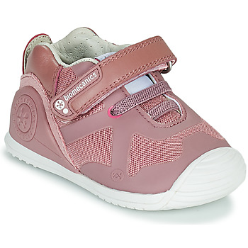Chaussures Fille Baskets basses Biomecanics ZAPATO ELASTICO Rose