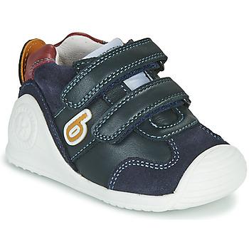 Chaussures Garçon Baskets basses Biomecanics ZAPATO SPORT VELCRO Marine