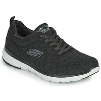 Chaussures Femme Fitness / Training Skechers FLEX APPEAL 3.0 PLUSH JOY Noir
