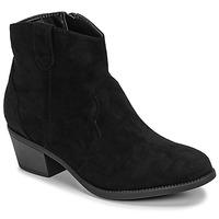 Chaussures Femme Boots Moony Mood NINITE Noir