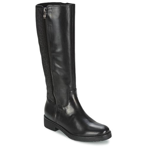 Chaussures Femme Bottes ville Tosca Blu ABELLINUM Noir