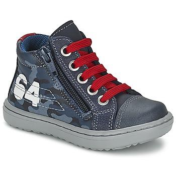 Chaussures Garçon Baskets montantes Citrouille et Compagnie MINAI Bleu