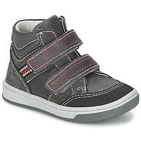 Chaussures Garçon Baskets montantes Citrouille et Compagnie MONI Gris