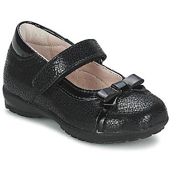 Chaussures Fille Ballerines / babies Citrouille et Compagnie TETRAS Noir