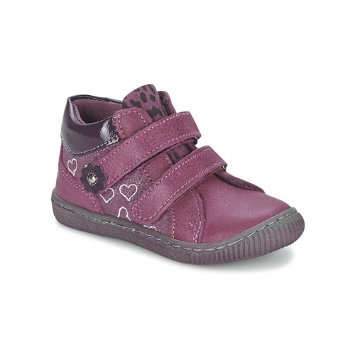 Chaussures Fille Boots Citrouille et Compagnie GALIS Rose
