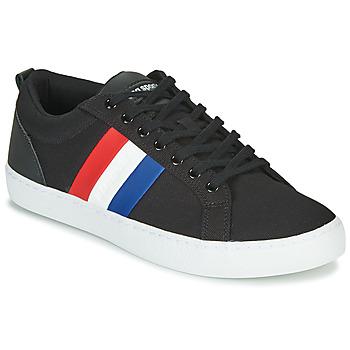 Chaussures Homme Baskets basses Le Coq Sportif VERDON CLASSIC FLAG Noir