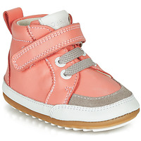 Chaussures Fille Boots Robeez MIGOLO Rose