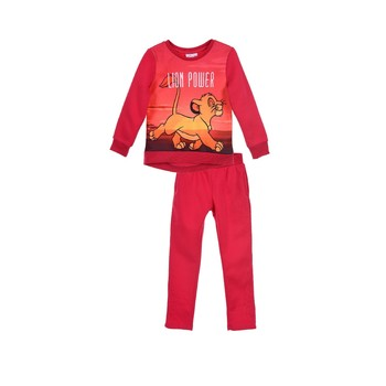 Vêtements Fille Ensembles de survêtement TEAM HEROES JOGGING LION KING Rose