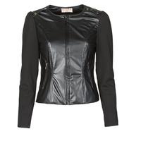 Vêtements Femme Vestes / Blazers Moony Mood NAMOUR Noir