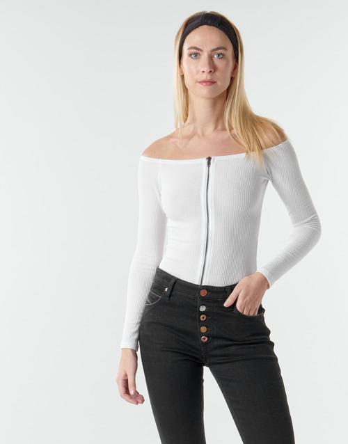 Vêtements Femme Tops / Blouses Moony Mood NOAM Blanc