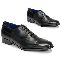 Chaussures Homme Richelieu Azzaro LITCHI Noir