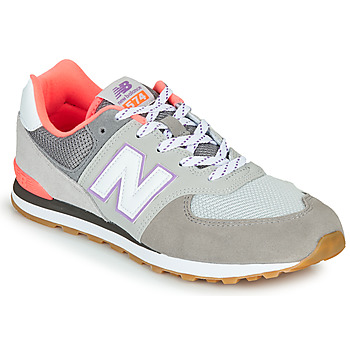 Chaussures Homme Baskets basses New Balance 574 Gris / Rose