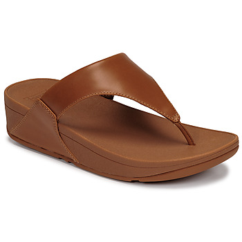 Chaussures Femme Sandales et Nu-pieds FitFlop LULU LEATHER TOEPOST Caramel