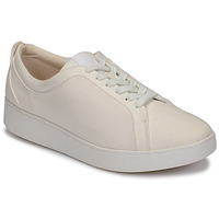 Chaussures Femme Baskets basses FitFlop RALLY DENIM Blanc