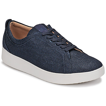 Chaussures Femme Baskets basses FitFlop RALLY DENIM Bleu