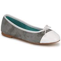 Chaussures Femme Ballerines / babies Les Lolitas FELL BIANCO-GRIGIO