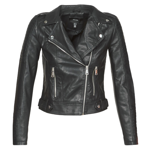 Vêtements Femme Vestes en cuir / synthétiques Vero Moda VMKERRIULTRA Noir