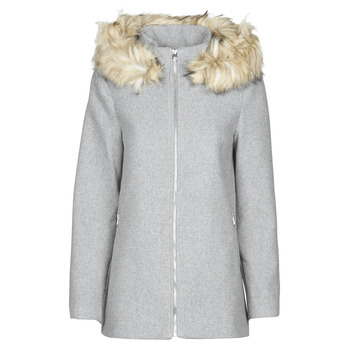 Vêtements Femme Manteaux Vero Moda VMCOLLARYORK Gris