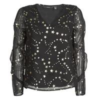 Vêtements Femme Tops / Blouses Vero Moda VMFEANA Noir