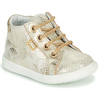 Chaussures Fille Baskets montantes GBB FAMIA Doré