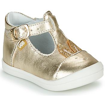 Chaussures Fille Ballerines / babies GBB ANINA Doré