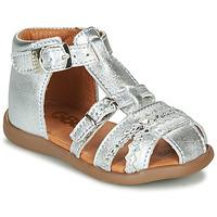 Chaussures Fille Sandales et Nu-pieds GBB ALIDA Argenté
