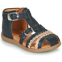 Chaussures Fille Sandales et Nu-pieds GBB ALIDA Marine