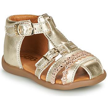 Chaussures Fille Sandales et Nu-pieds GBB ALIDA Doré